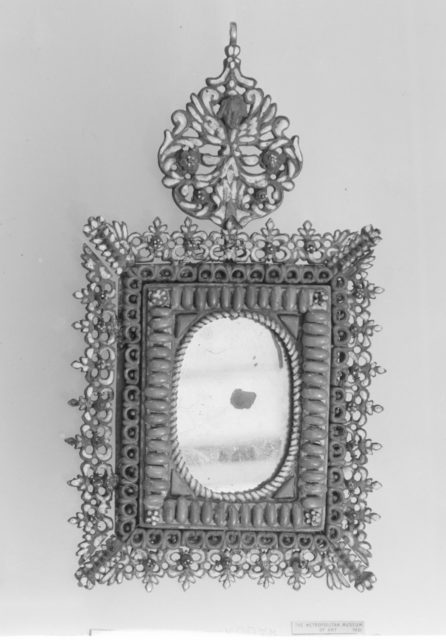 Mirror (one of a pair)