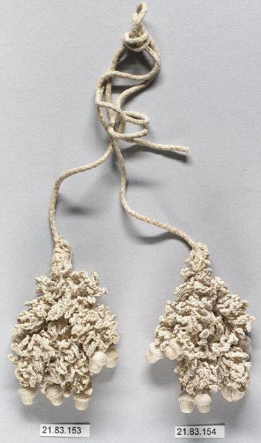 Pair of tassels