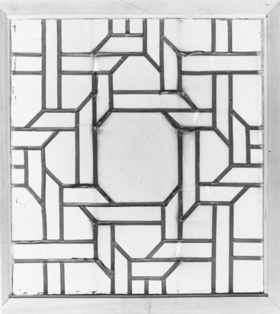 Panel from a window