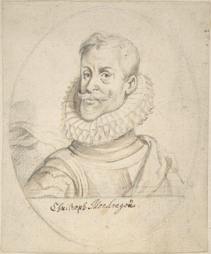 Portrait of Christoph Mondragon