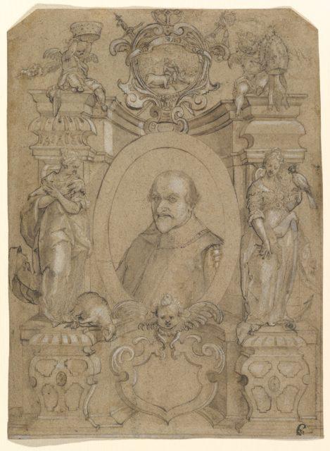 Portrait of Johann Schweickhardt von Kronberg, Archbishop of Mainz
