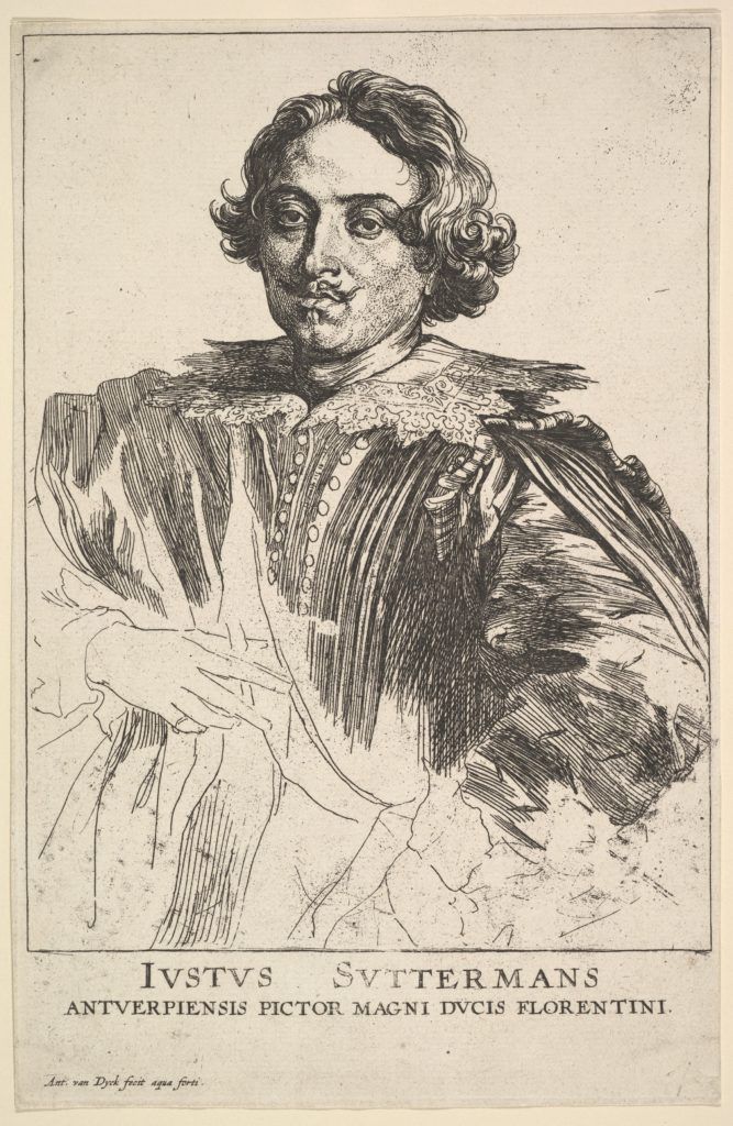 Portrait of Justus Suttermans