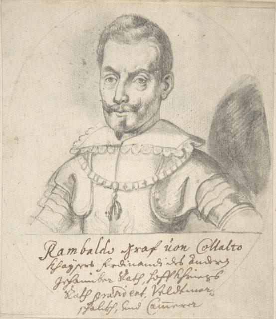 Portrait of Rambaldo, graf von Collalto