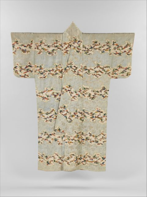 Robe (Kosode) with Shells and Sea Grasses