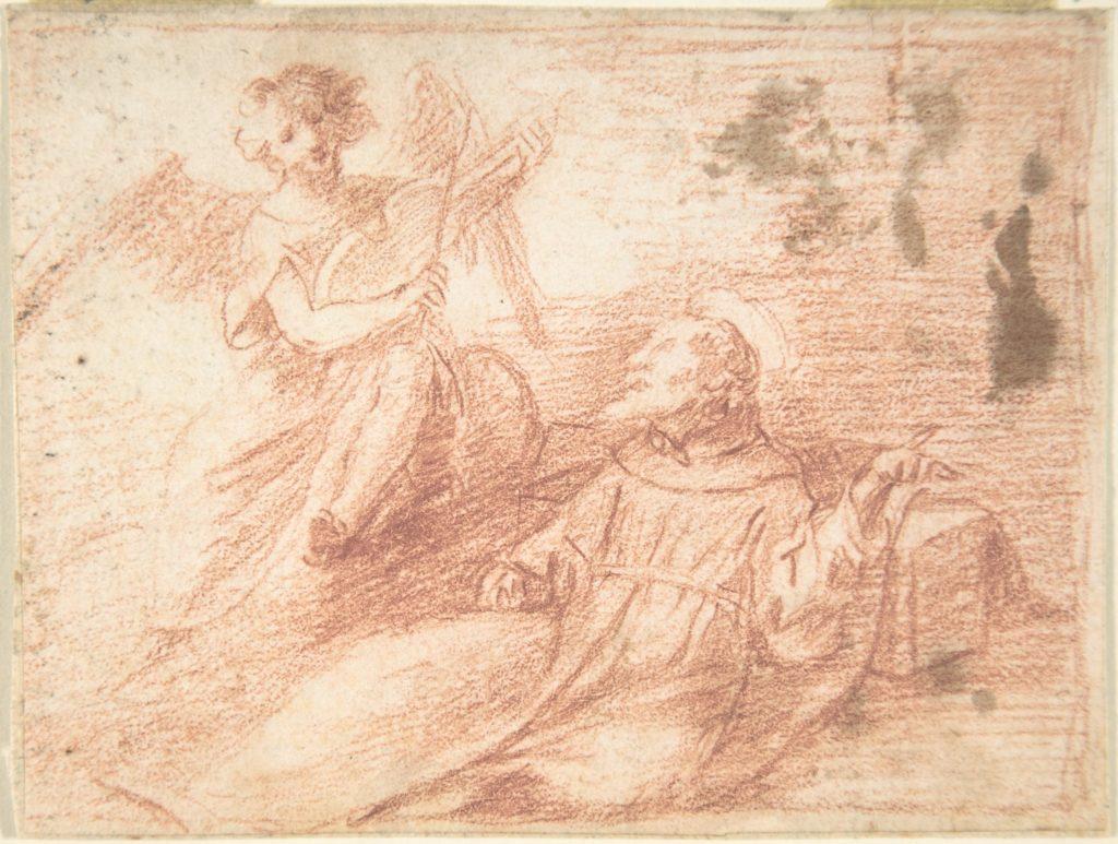 Saint Francis and an Angel with a Viola da Braccio (The Ecstasy of Saint Francis)