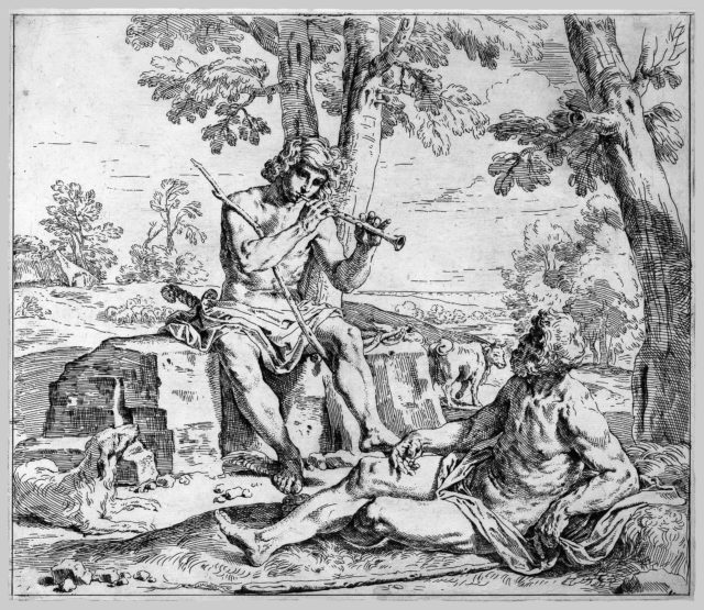 Scrapbook Containing Italian Etchings of the 17th and 18th Centuries
