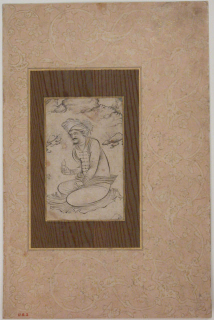 Seated Man in the Wilderness