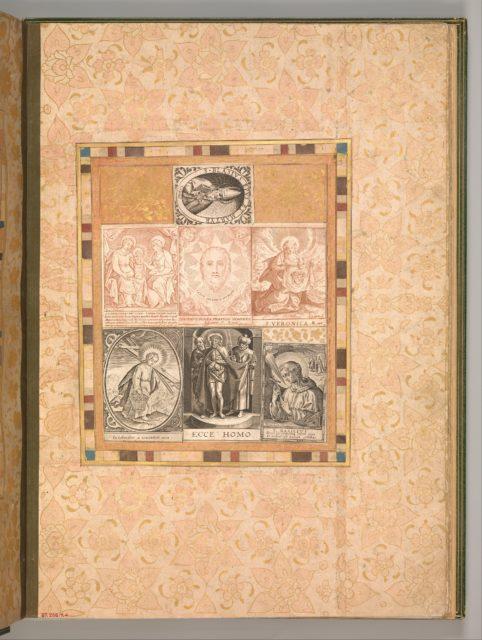 """""""Seven Devotional Scenes"""", Folio from the Bellini Album"""