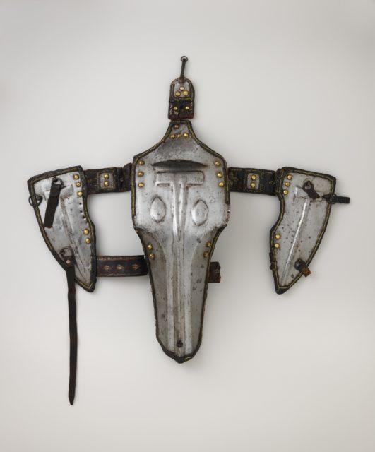 Shaffron (Head Defense) for a Camel