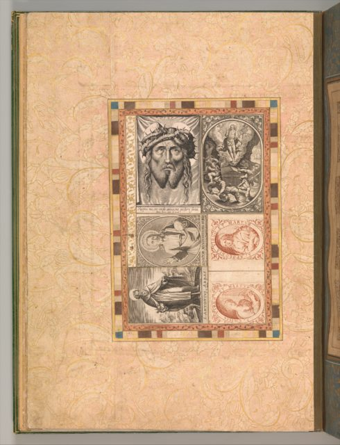 """Six Devotional Subjects"", Folio from the Bellini Album"