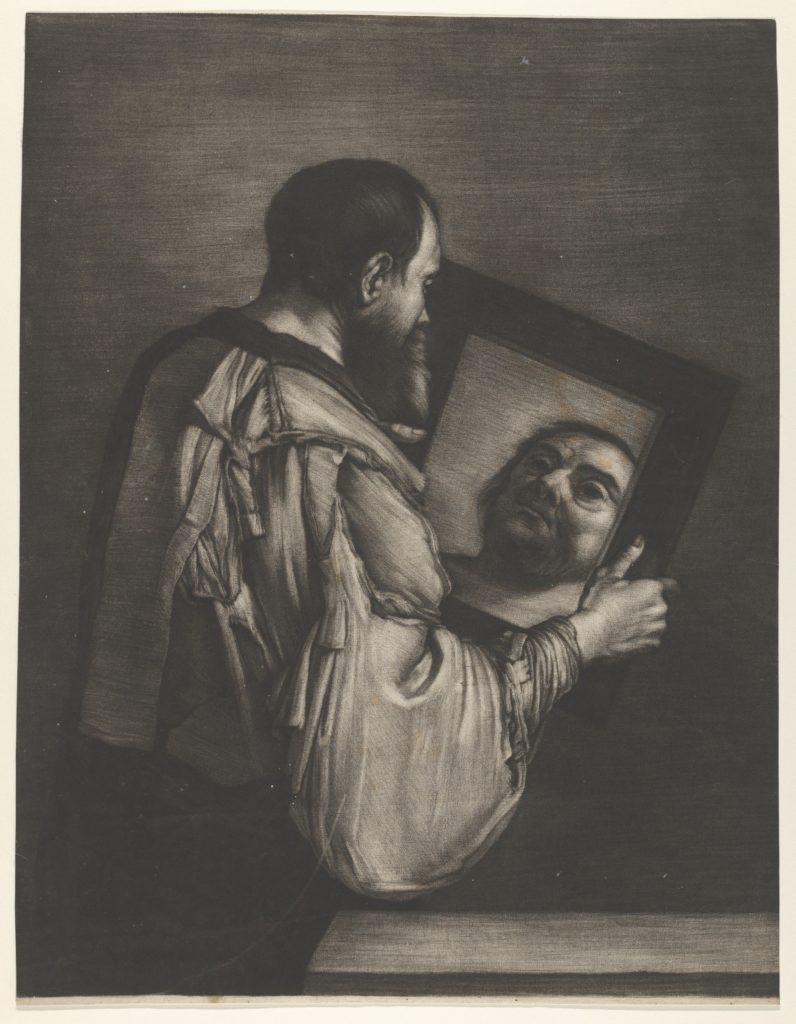 Socrates Looking in a Mirror