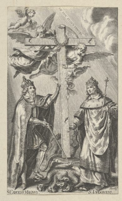 St. Charlemagne and St. Louis