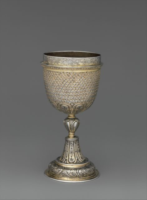 Standing cup (half of a double cup)
