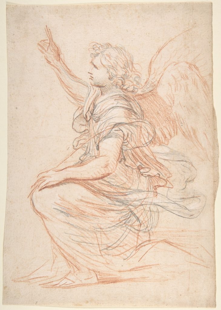 Study for the Archangel Gabriel