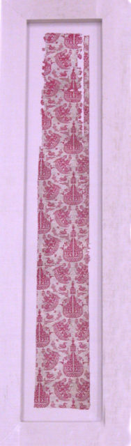 Textile Fragment with Sailing Ships