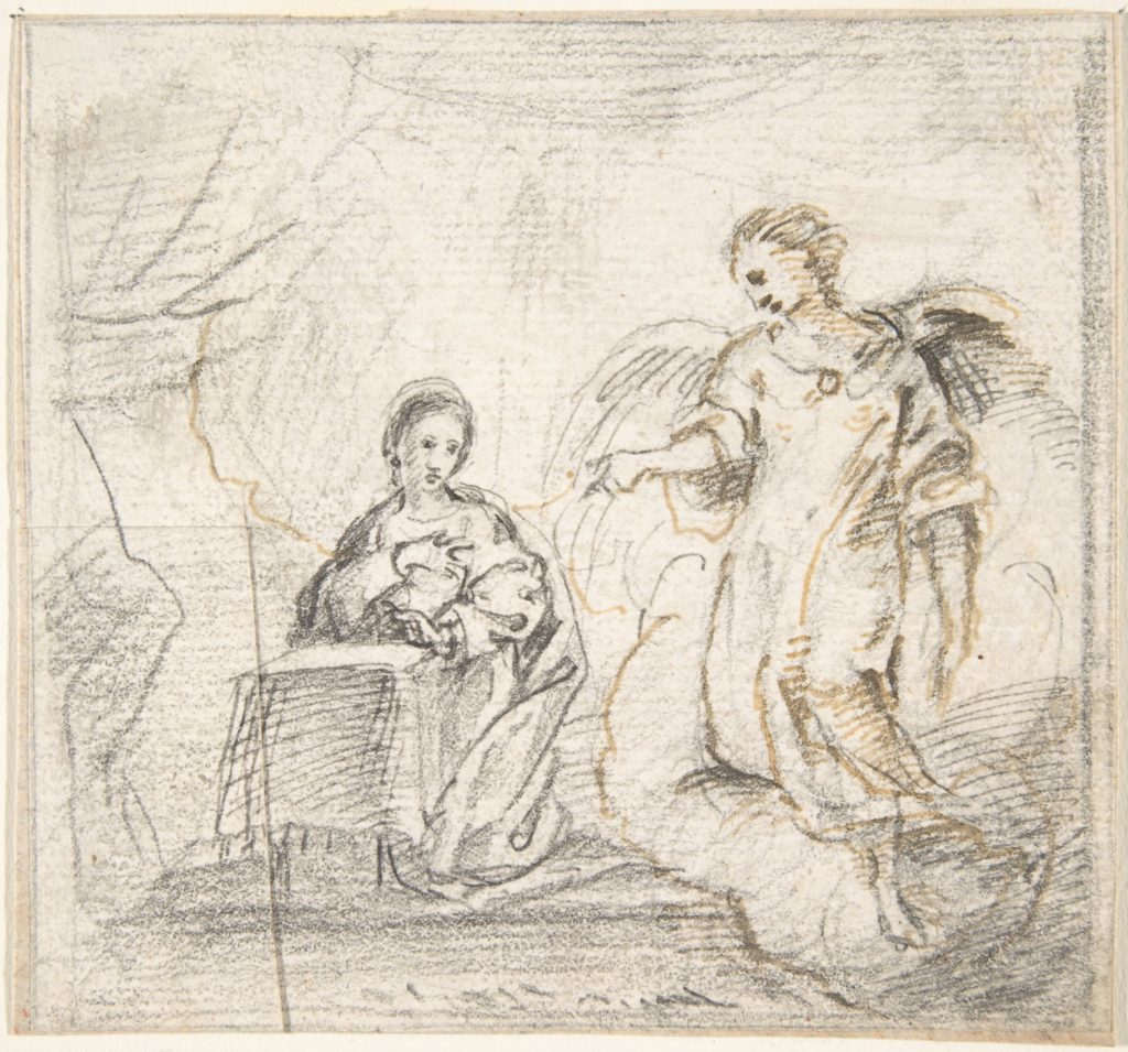 The Annunciation (Angel Approaching From the Right)