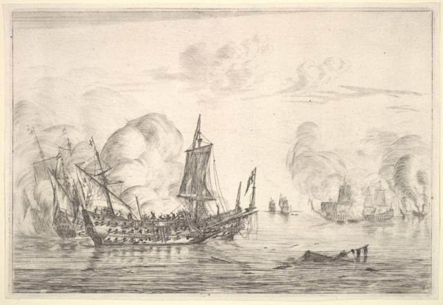 The Final of a Naval Battle