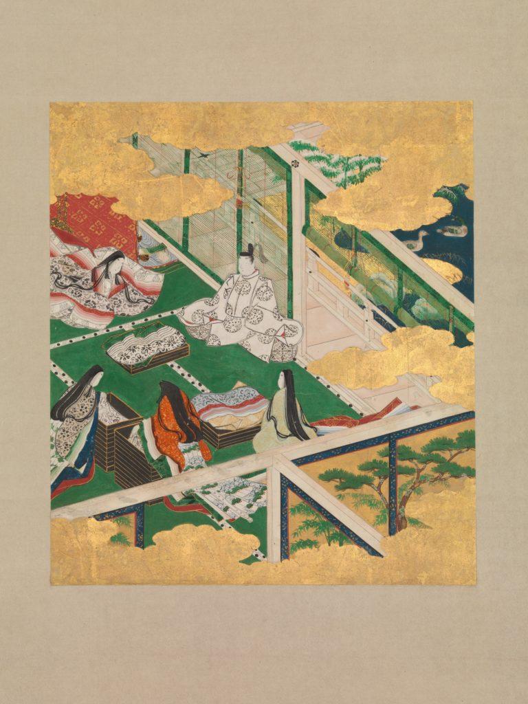 """""""The Jeweled Chaplet"""" (""""Tamakazura""""), from The Tale of Genji (Genji monogatari)"""