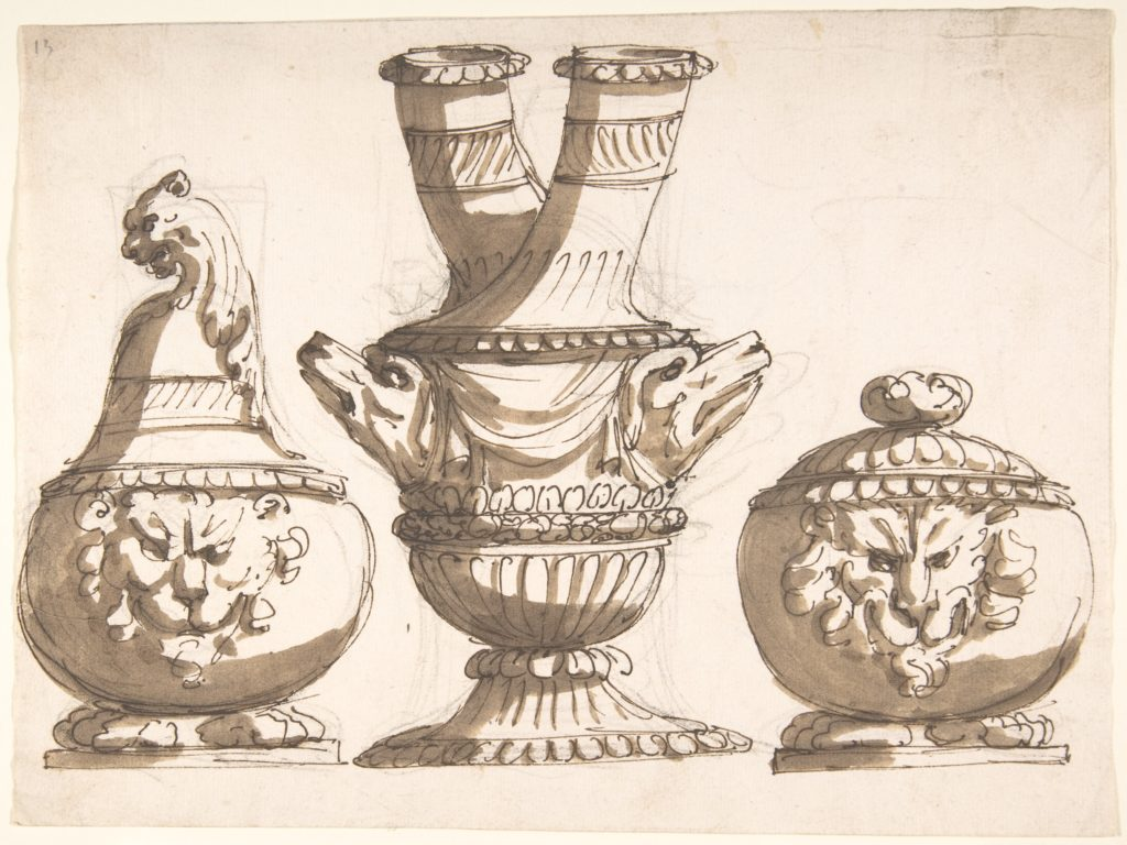 Three Ornamental Vessel Designs