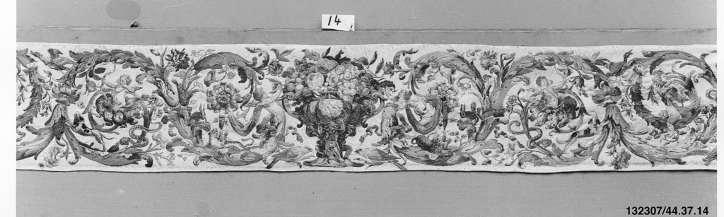 Valance (one of a set of six)