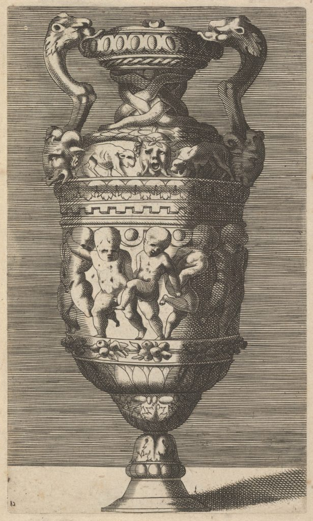 Vase with Dancing Putti