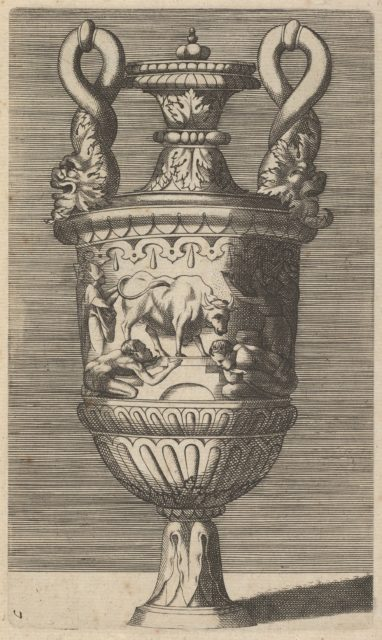 Vase with the Veneration of a Bull