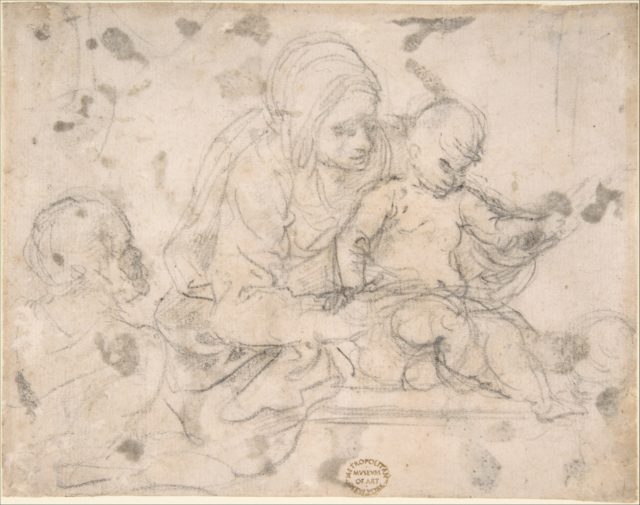 Virgin and Child with Infant St. John the Baptist
