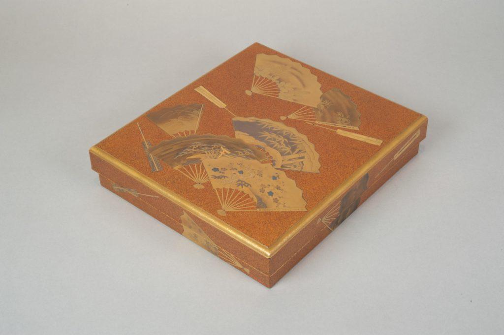 Writing Box (Suzuribako) with Design of Fans