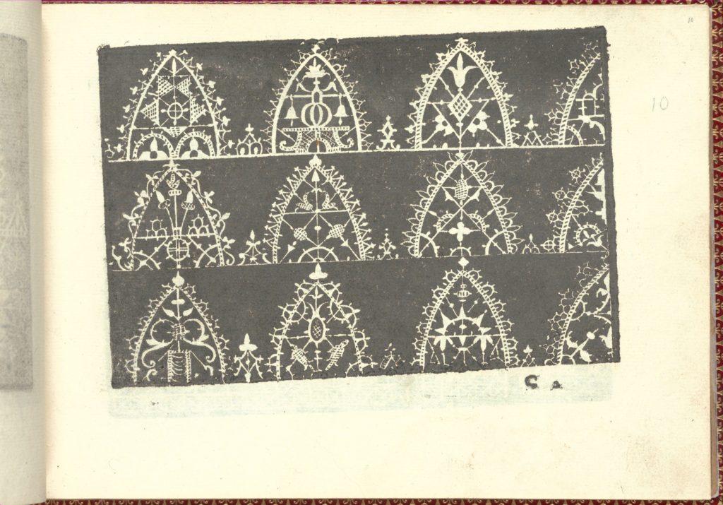 Corona delle Nobili et Virtuose Donne: Libro I-IV, page 10 (recto)