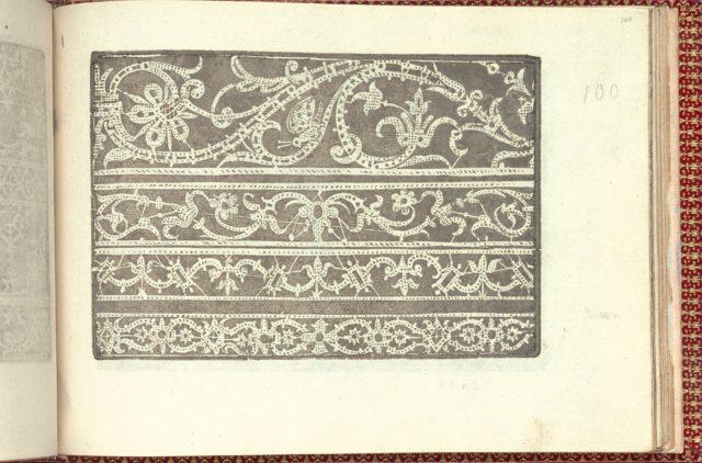 Corona delle Nobili et Virtuose Donne: Libro I-IV, page 100 (recto)