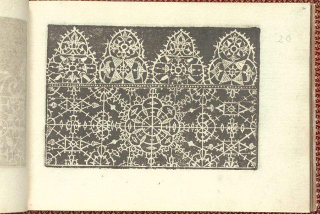 Corona delle Nobili et Virtuose Donne: Libro I-IV, page 20 (recto)
