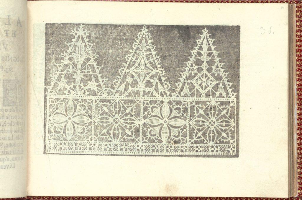 Corona delle Nobili et Virtuose Donne: Libro I-IV, page 31 (recto)