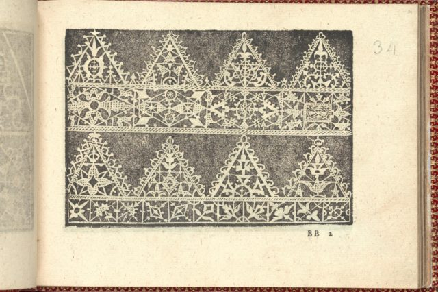 Corona delle Nobili et Virtuose Donne: Libro I-IV, page 34 (recto)