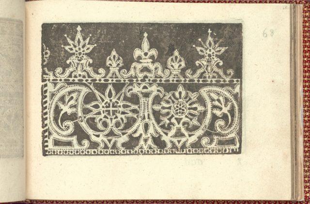 Corona delle Nobili et Virtuose Donne: Libro I-IV, page 68 (recto)