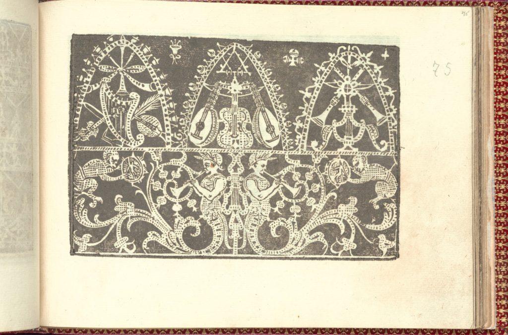 Corona delle Nobili et Virtuose Donne: Libro I-IV, page 75 (recto)
