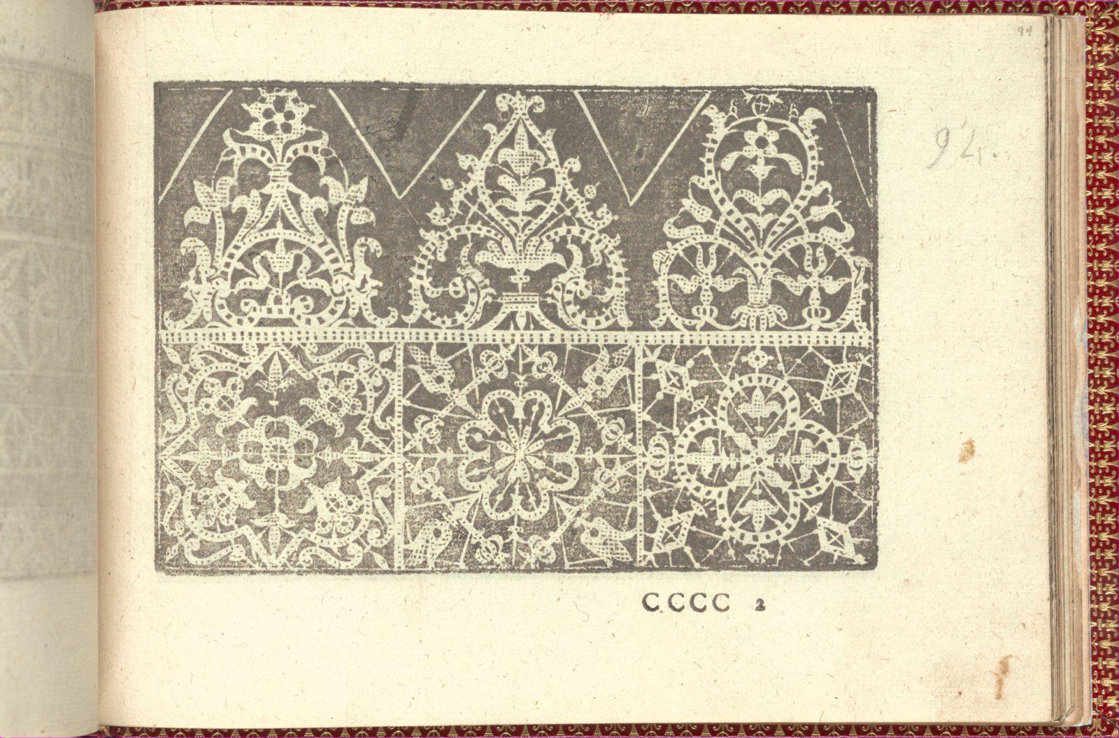 Corona delle Nobili et Virtuose Donne: Libro I-IV, page 94 (recto)