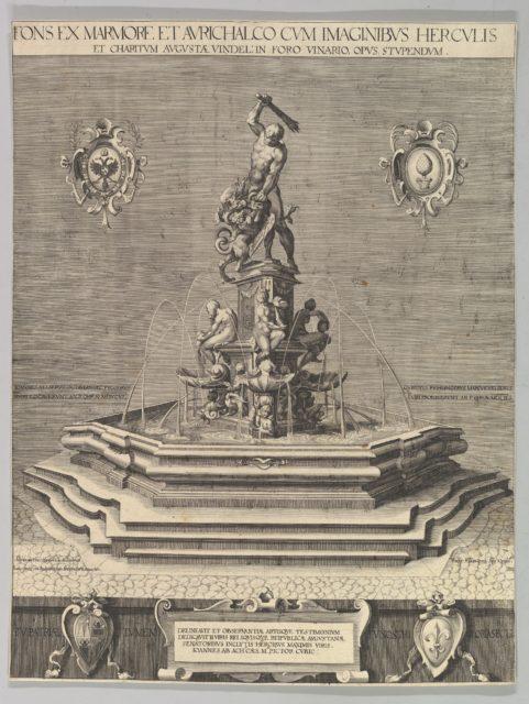 Fountain of Hercules in Augsburg (Copy)