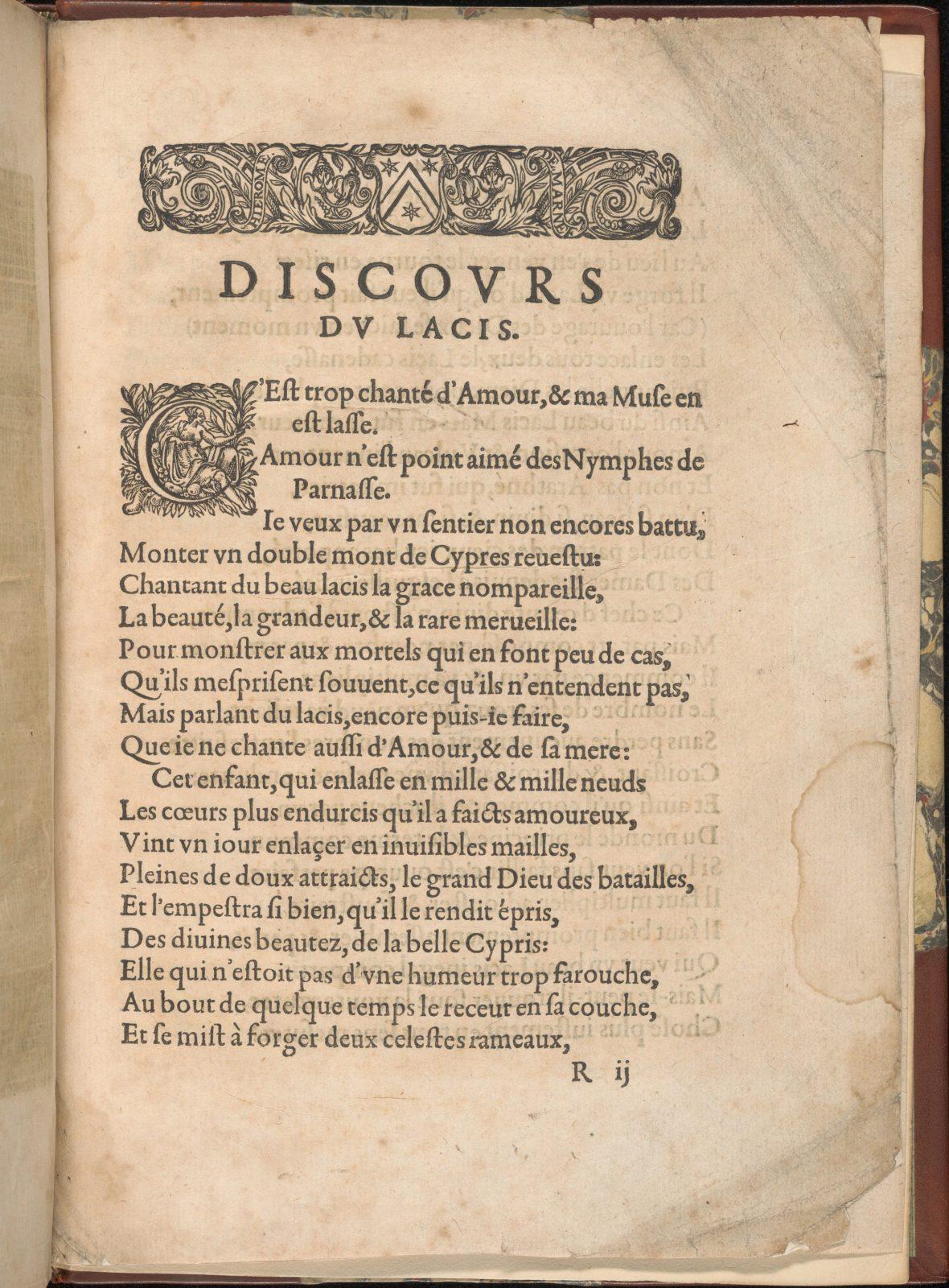Les Secondes Oeuvres, et Subtiles Inventions De Lingerie du Seigneur Federic de Vinciolo Venitien, page 66 (recto)
