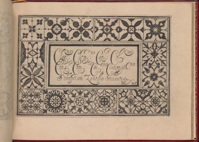 Ghirlanda: Di sei vaghi fiori scielti da piu famosi Giardini d'Italia, page 35 (recto)