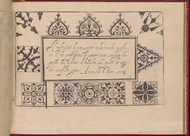 Ghirlanda: Di sei vaghi fiori scielti da piu famosi Giardini d'Italia, page 26 (recto)