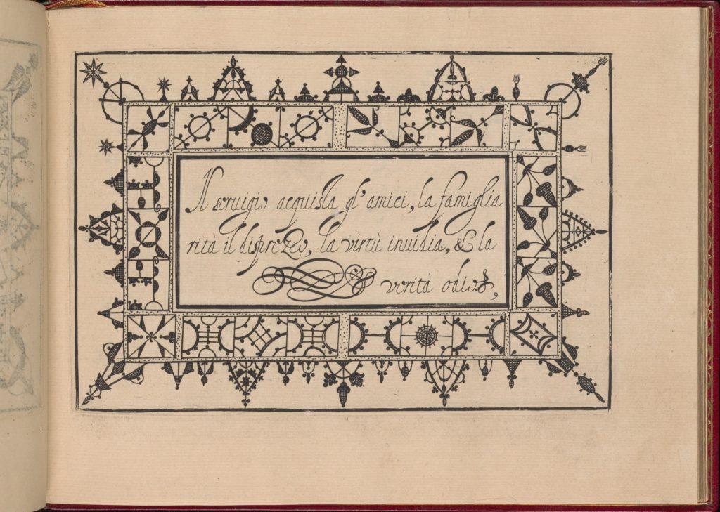 Ghirlanda: Di sei vaghi fiori scielti da piu famosi Giardini d'Italia, page 17 (recto)