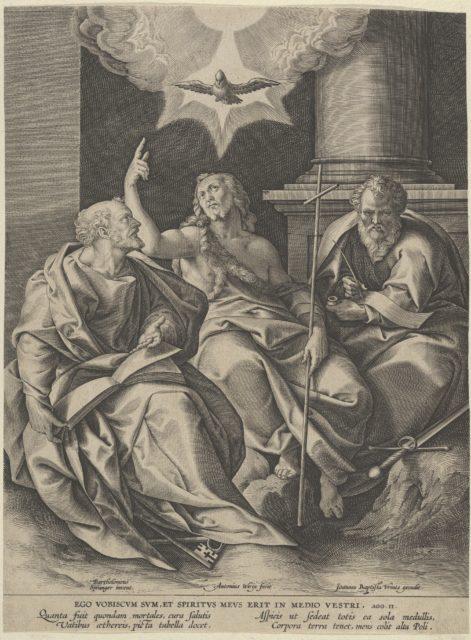 Saint Peter, Saint Paul, and Saint John the Baptist