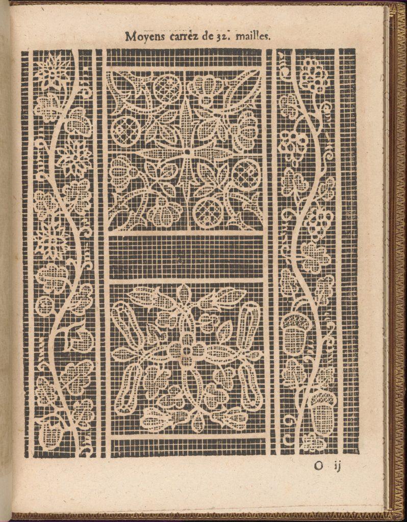 La Pratique de l'Aiguille, page 53 (recto)