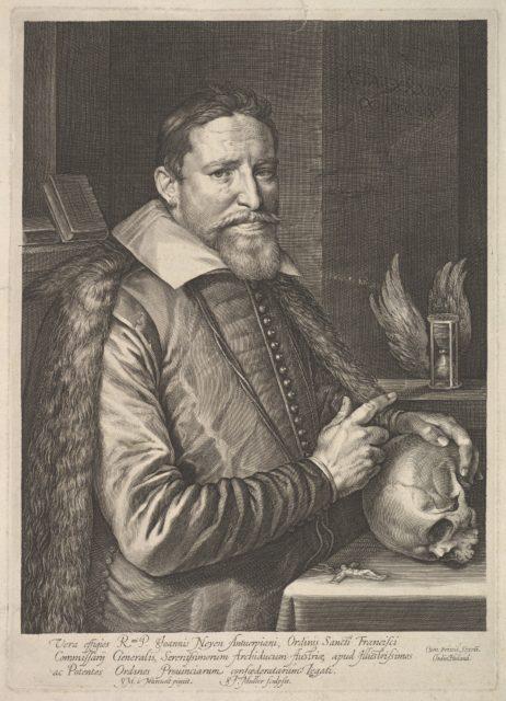 Joannes Neyen, general of the order of Franciscan friars, ambassador in Trier