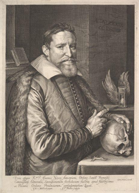 Portrait of Joannes Neyen, General of the Order of Franciscan Friars, Ambassador in Trier