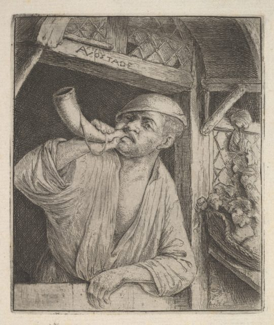 Baker Blowing Horn