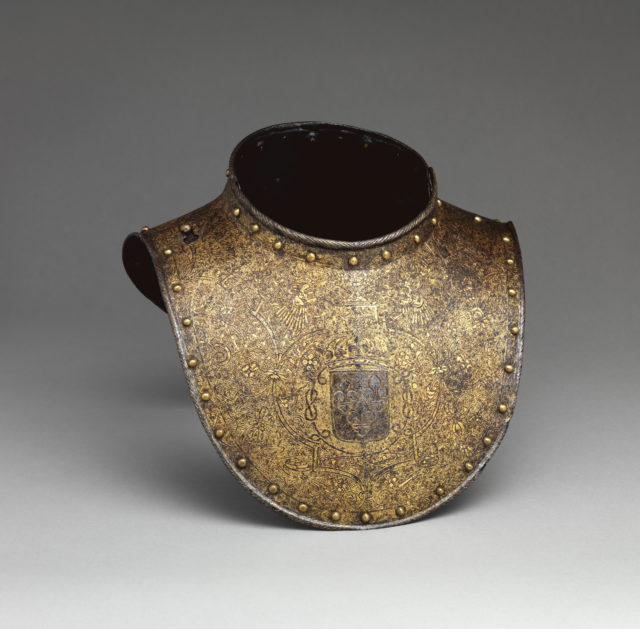 Gorget for the Bodyguard of Louis XIII