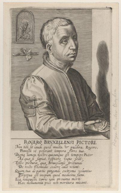 Roger van der Weyden the Younger, from the series Pictorum Aliquot Celebrium..