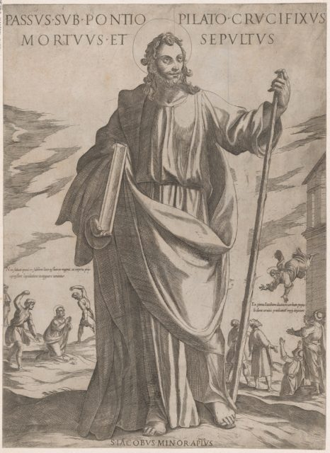 St. James Minor, from 'Christ, Mary and the Apostles'