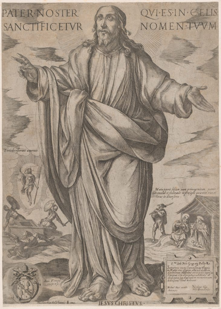 Standing Christ, Blessing from 'Christ, Mary, and the Apostles'